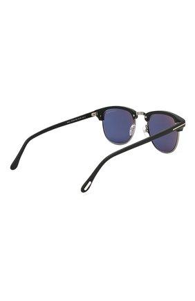 Мужские солнцезащитные очки TOM FORD черного цвета, арт. TF248 02X | Фото 4