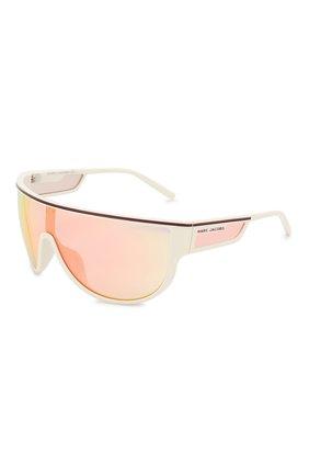 Мужские солнцезащитные очки MARC JACOBS (THE) белого цвета, арт. MARC 410 VK6 | Фото 1