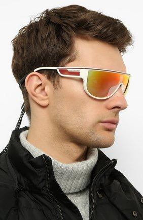 Женские солнцезащитные очки MARC JACOBS (THE) белого цвета, арт. MARC 410 VK6 | Фото 3