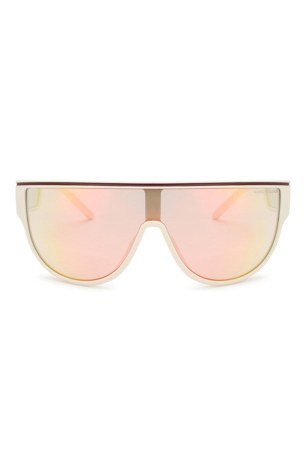 Женские солнцезащитные очки MARC JACOBS (THE) белого цвета, арт. MARC 410 VK6 | Фото 4