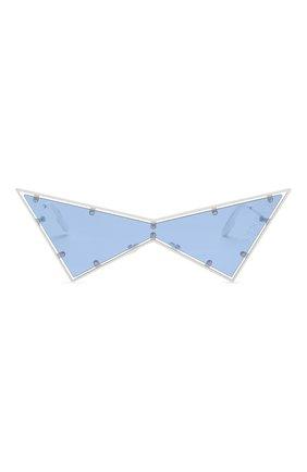 Женские солнцезащитные очки KENZO белого цвета, арт. KZ40030U 21V   Фото 4