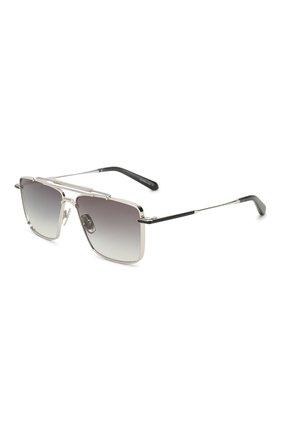 Мужские солнцезащитные очки EQUE.M серебряного цвета, арт. CLASSIC SHAVE/SS | Фото 1