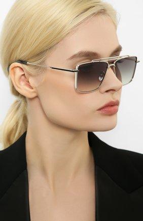 Мужские солнцезащитные очки EQUE.M серебряного цвета, арт. CLASSIC SHAVE/SS | Фото 2