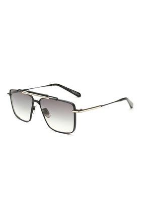 Мужские солнцезащитные очки EQUE.M черного цвета, арт. CLASSIC SHAVE/MB | Фото 1