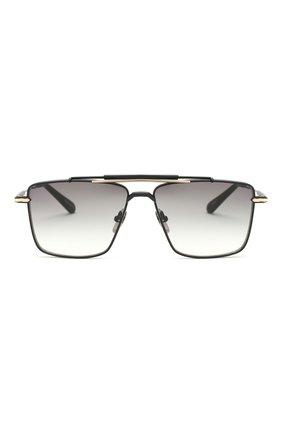 Женские солнцезащитные очки EQUE.M черного цвета, арт. CLASSIC SHAVE/MB | Фото 4