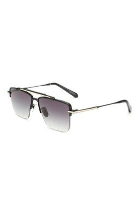 Женские солнцезащитные очки EQUE.M черного цвета, арт. THE APEX/MBG | Фото 1