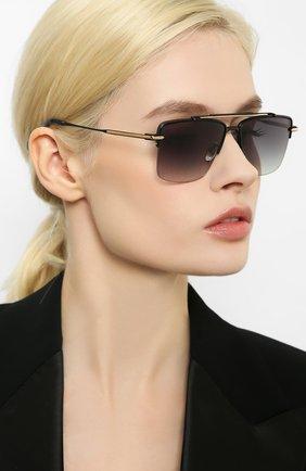 Женские солнцезащитные очки EQUE.M черного цвета, арт. THE APEX/MBG | Фото 2