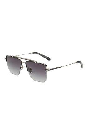 Мужские солнцезащитные очки EQUE.M черного цвета, арт. THE APEX/ABS | Фото 1