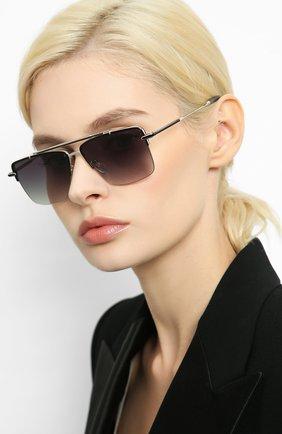 Мужские солнцезащитные очки EQUE.M черного цвета, арт. THE APEX/ABS | Фото 2