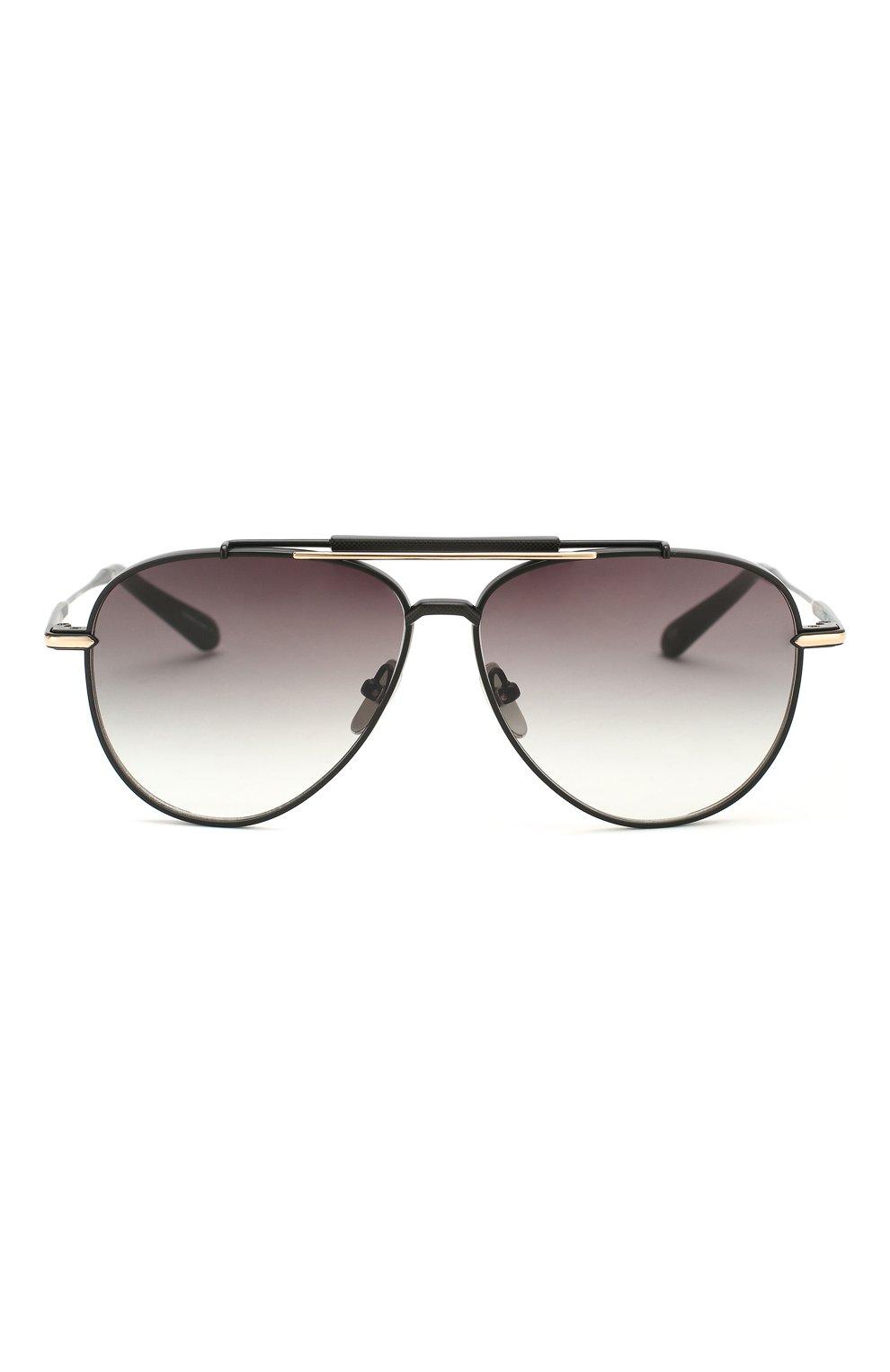 Женские солнцезащитные очки EQUE.M черного цвета, арт. CLASSIC BLEND/MB | Фото 4