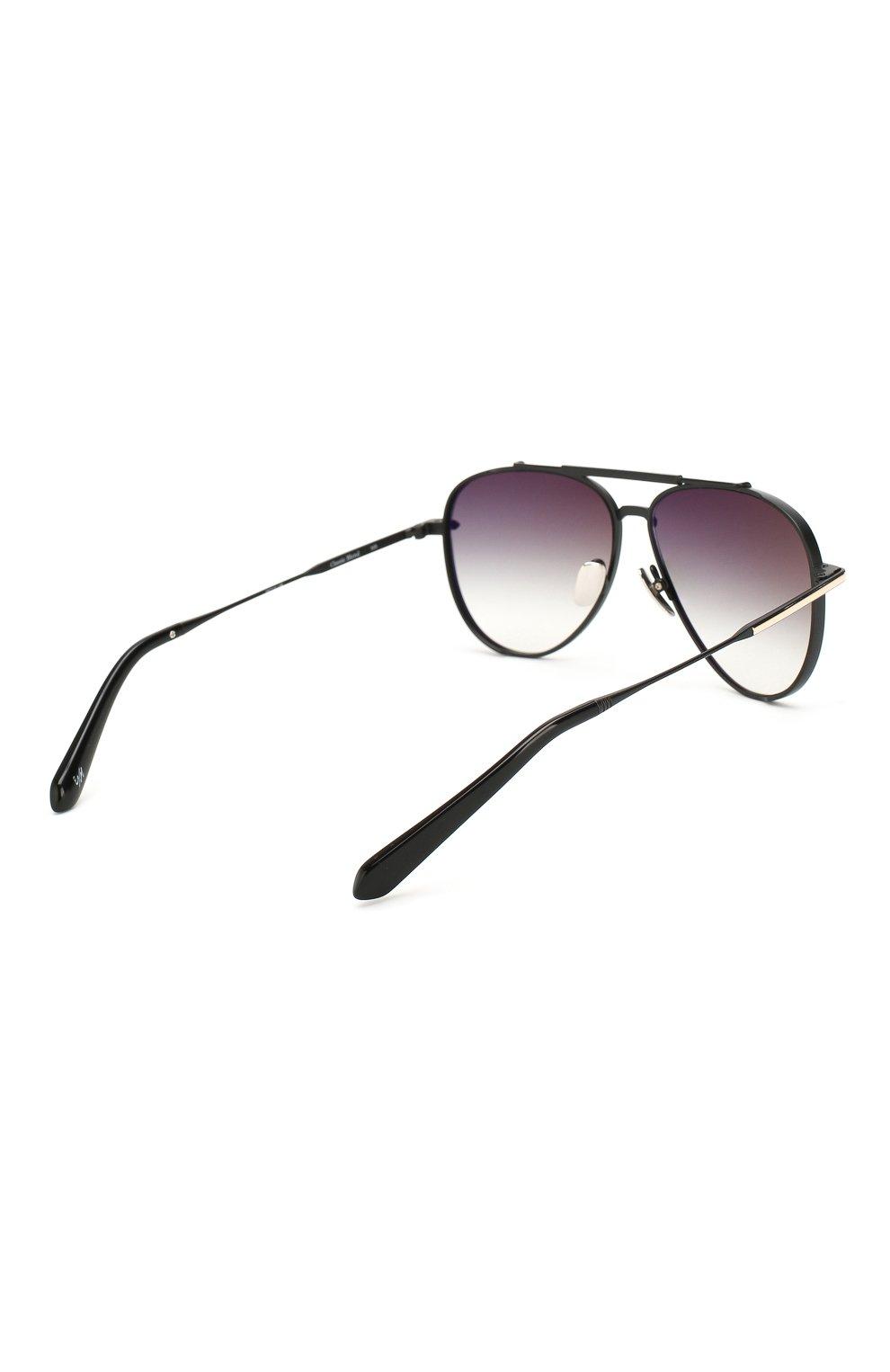Женские солнцезащитные очки EQUE.M черного цвета, арт. CLASSIC BLEND/MB | Фото 5