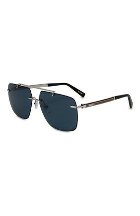 Мужские солнцезащитные очки CHOPARD серебряного цвета, арт. D55 579P | Фото 1