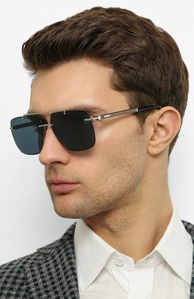 Мужские солнцезащитные очки CHOPARD серебряного цвета, арт. D55 579P | Фото 2