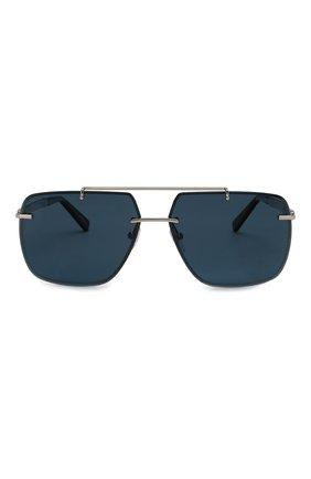 Мужские солнцезащитные очки CHOPARD серебряного цвета, арт. D55 579P | Фото 3