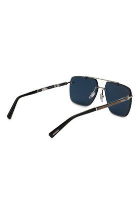 Мужские солнцезащитные очки CHOPARD серебряного цвета, арт. D55 579P | Фото 4