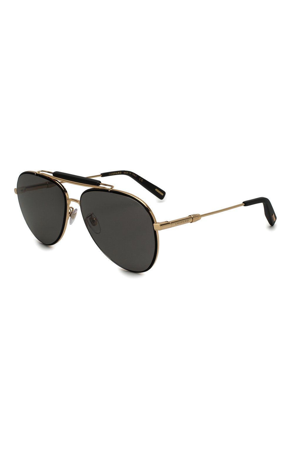 Женские солнцезащитные очки CHOPARD золотого цвета, арт. D59 302Z | Фото 1
