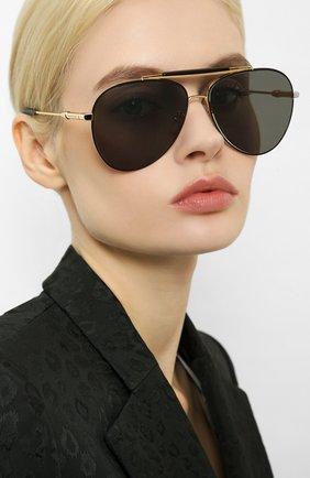 Женские солнцезащитные очки CHOPARD золотого цвета, арт. D59 302Z | Фото 2