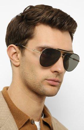 Женские солнцезащитные очки CHOPARD золотого цвета, арт. D59 302Z | Фото 3