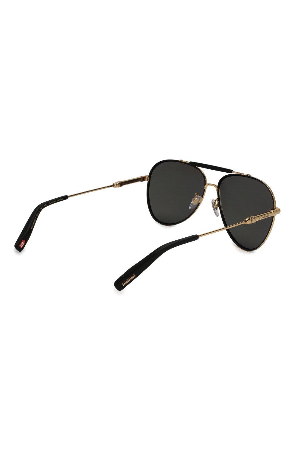 Женские солнцезащитные очки CHOPARD золотого цвета, арт. D59 302Z | Фото 5