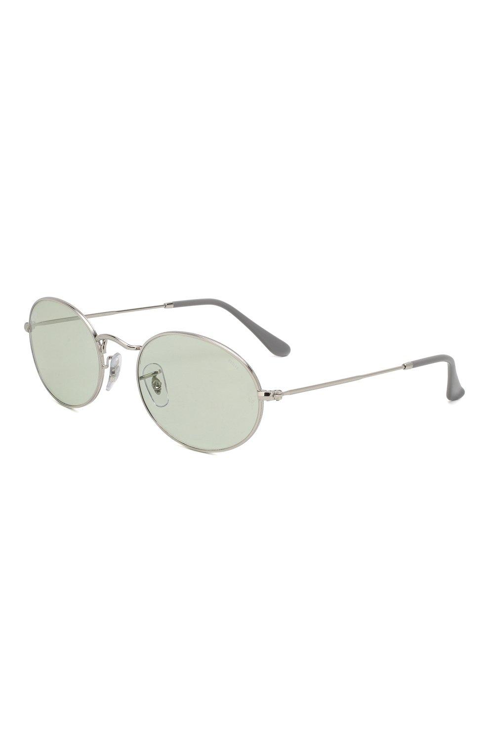 Женские солнцезащитные очки RAY-BAN серебряного цвета, арт. 3547-003/T1   Фото 1