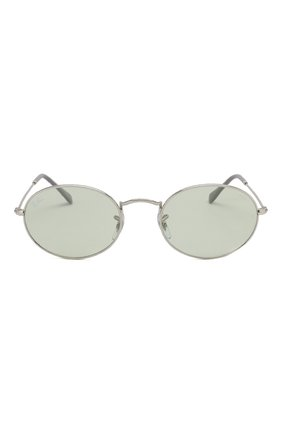 Женские солнцезащитные очки RAY-BAN серебряного цвета, арт. 3547-003/T1   Фото 4