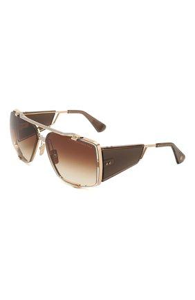 Женские солнцезащитные очки DITA золотого цвета, арт. S0ULINER-TW0/02 | Фото 1