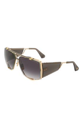 Мужские солнцезащитные очки DITA золотого цвета, арт. S0ULINER-TW0/01 | Фото 1