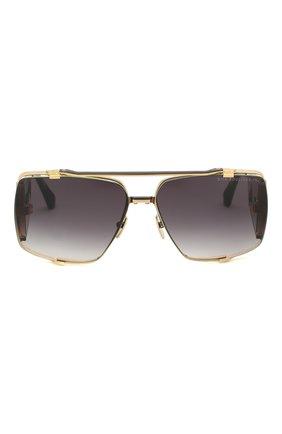 Женские солнцезащитные очки DITA золотого цвета, арт. S0ULINER-TW0/01 | Фото 2