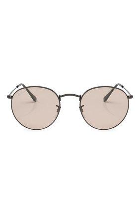 Женские солнцезащитные очки RAY-BAN серебряного цвета, арт. 3447-004/T5 | Фото 1