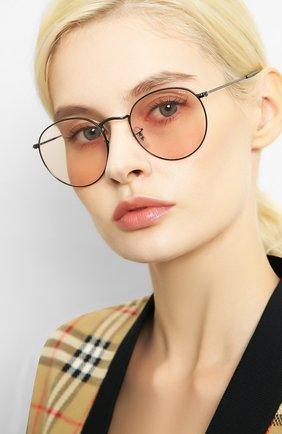 Женские солнцезащитные очки RAY-BAN серебряного цвета, арт. 3447-004/T5 | Фото 2