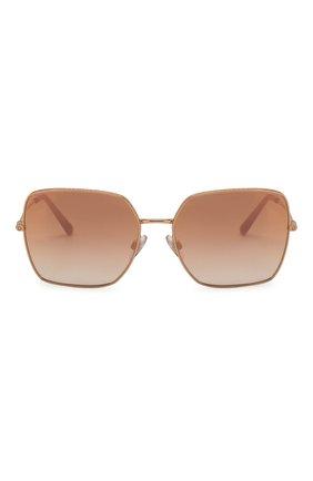 Женские солнцезащитные очки DOLCE & GABBANA розового цвета, арт. 2242-12986F | Фото 3