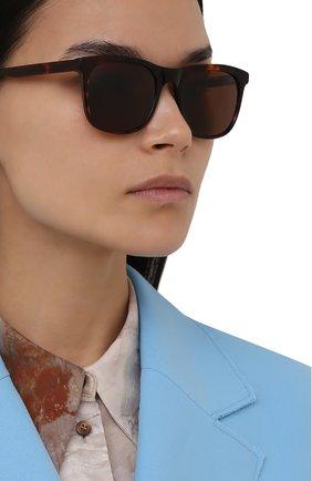 Мужские солнцезащитные очки LORO PIANA коричневого цвета, арт. FAI4927 | Фото 2