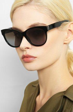 Мужские солнцезащитные очки LORO PIANA черного цвета, арт. FAI4929 | Фото 2