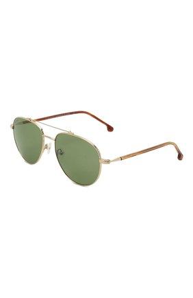 Мужские солнцезащитные очки LORO PIANA светло-зеленого цвета, арт. FAI4926 | Фото 1 (Статус проверки: Проверена категория; Тип очков: С/з; Оптика Гендер: оптика-мужское; Очки форма: Авиаторы)