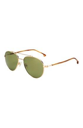 Мужские солнцезащитные очки LORO PIANA золотого цвета, арт. FAI4926 | Фото 1