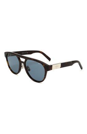 Мужские солнцезащитные очки BERLUTI коричневого цвета, арт. BL 40002U | Фото 1