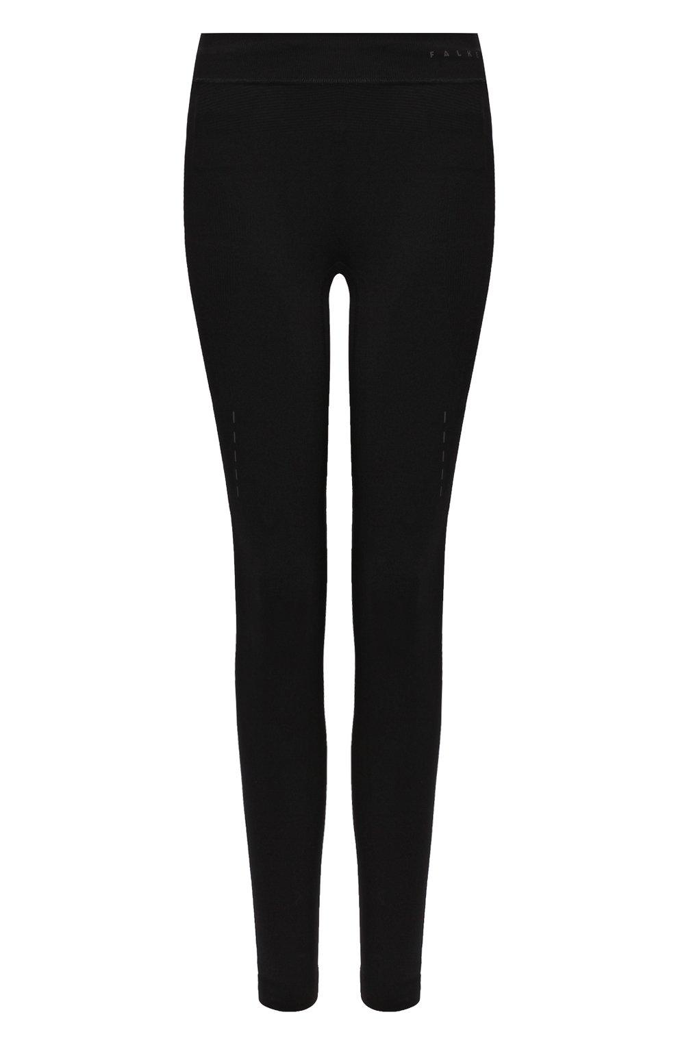 Женские леггинсы FALKE черного цвета, арт. 38189_ | Фото 1