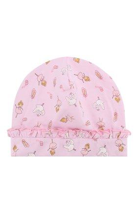 Детского шапка ballet duet MAGNOLIA BABY розового цвета, арт. 468-50RP-PK | Фото 1
