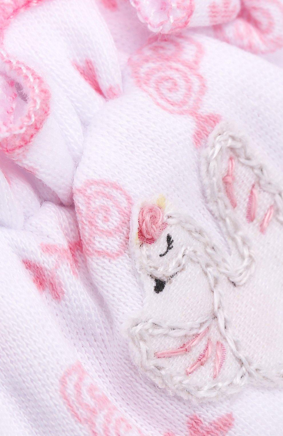 Детского шапка ballet duet MAGNOLIA BABY розового цвета, арт. 468-50R-PK   Фото 3 (Материал: Текстиль, Хлопок)