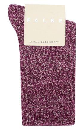 Женские носки FALKE бордового цвета, арт. 46573_19_ | Фото 1
