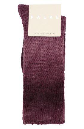 Женские носки FALKE бордового цвета, арт. 46548_19_ | Фото 1