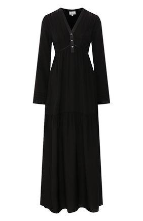 Женские платье MARJOLAINE черного цвета, арт. 3IND3003_0004 | Фото 1