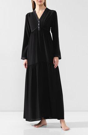 Женские платье MARJOLAINE черного цвета, арт. 3IND3003_0004 | Фото 2