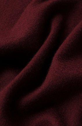 Мужской кашемировый шарф LORO PIANA бордового цвета, арт. FAB9149 | Фото 2