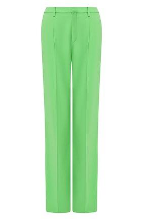 Женские шерстяные брюки RALPH LAUREN зеленого цвета, арт. 290788693 | Фото 1