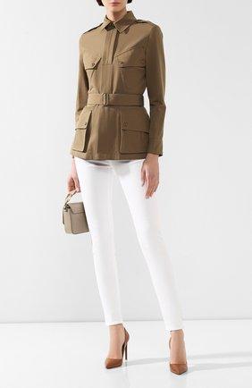 Женские кожаные туфли celia RALPH LAUREN коричневого цвета, арт. 800771972 | Фото 2