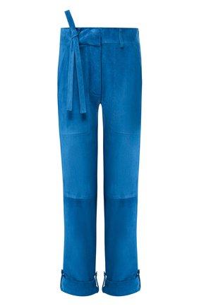 Замшевые брюки | Фото №1
