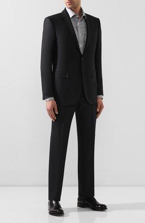 Мужская хлопковая сорочка ETON серого цвета, арт. 1000 00341   Фото 2