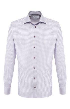 Мужская хлопковая сорочка ETON сиреневого цвета, арт. 1000 00464 | Фото 1