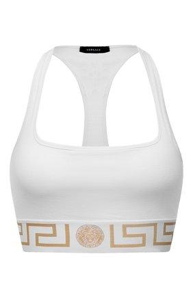 Женский бра-топ VERSACE белого цвета, арт. AUD01039/A232741 | Фото 1
